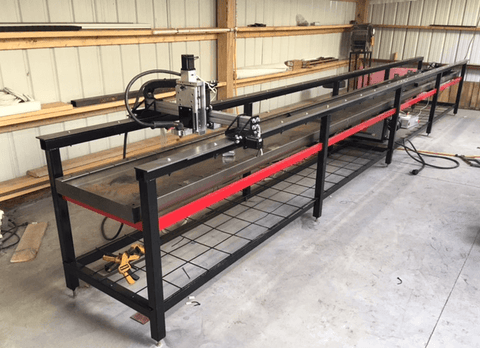 CNC Gantry Style Tube Cutter