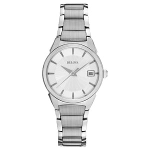 96M111 BULOVA stainless steel case and bracelet