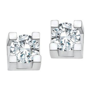 U1877438 10KT White Gold .37ct tw Diamond Stud Earring 50% Off FINAL SALE