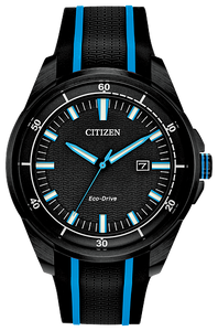 AW160509E CITIZEN®'s DRIVE Collection  Eco-Drive technology – powered by light, any light. Never needs a battery.