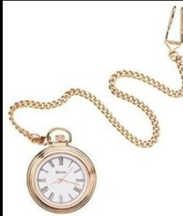 B2662 Bulova Pocket Watch with chain