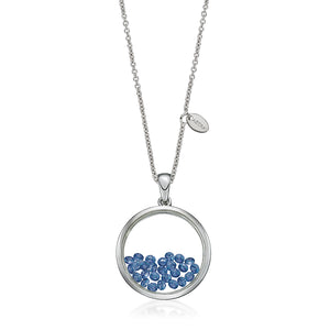 P4165SPH ASTRA Sterling Silver Night Sky Pendant 40% Off FINAL SALE