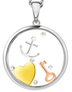 PA5251CZ ASTRA Sterling Silver Do What You Love Pendant