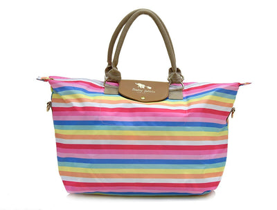 Rainbow Stripes Traveller Bag
