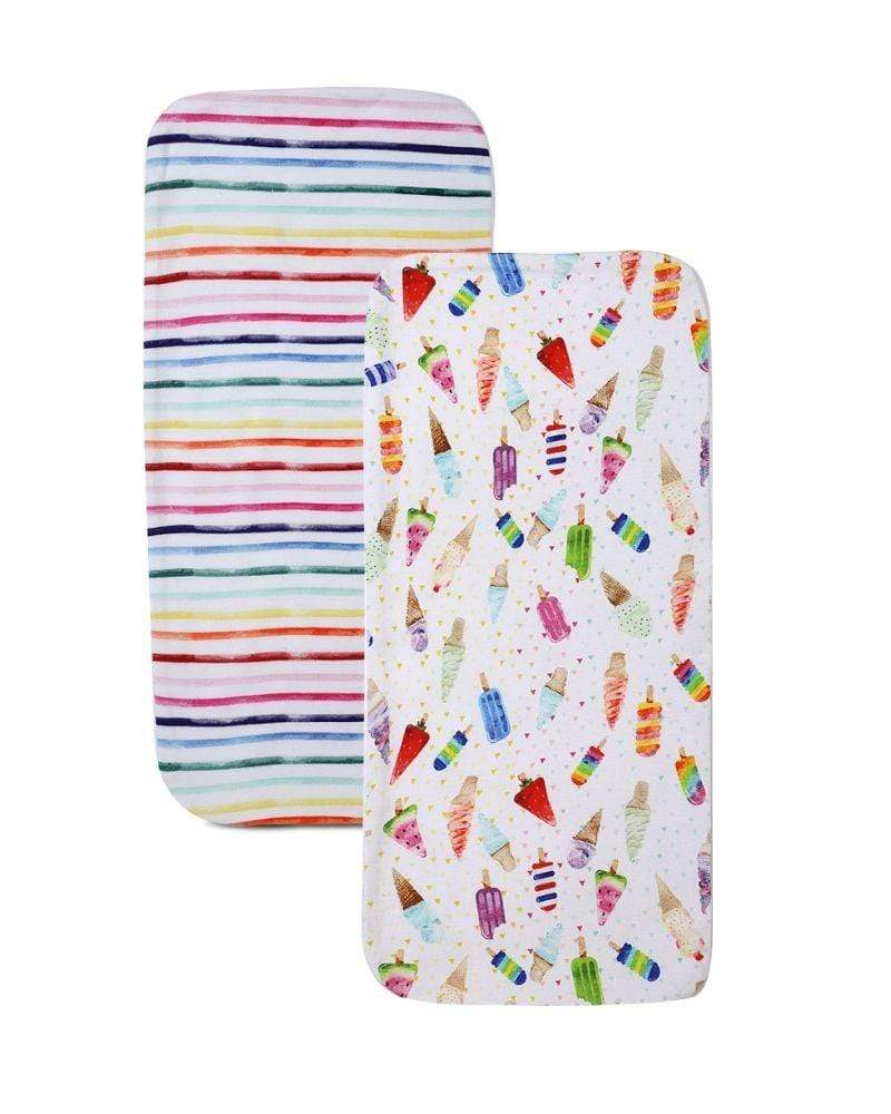 Fruitella pop burpcloth set