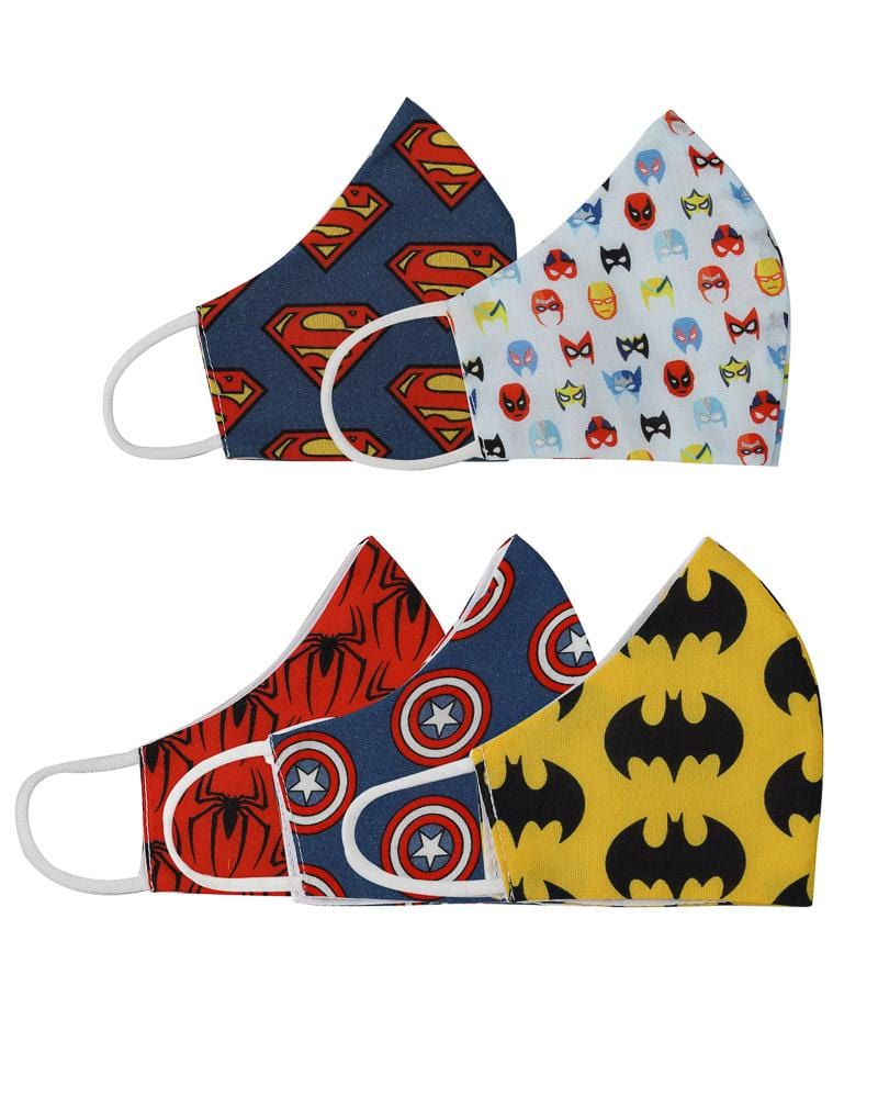 Super Hero Adult Size Masks - Baby Jalebi