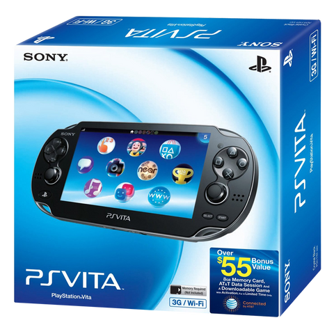 PlayStation 3G Vita Launch Bundle