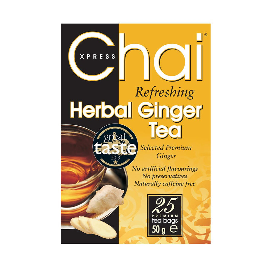 Chai Xpress Herbal Ginger Tea