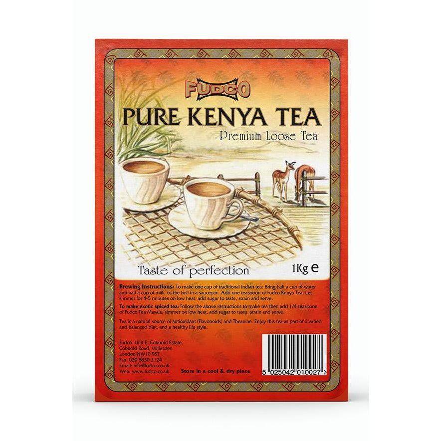 Fudco pure kenya loose leaf tea box