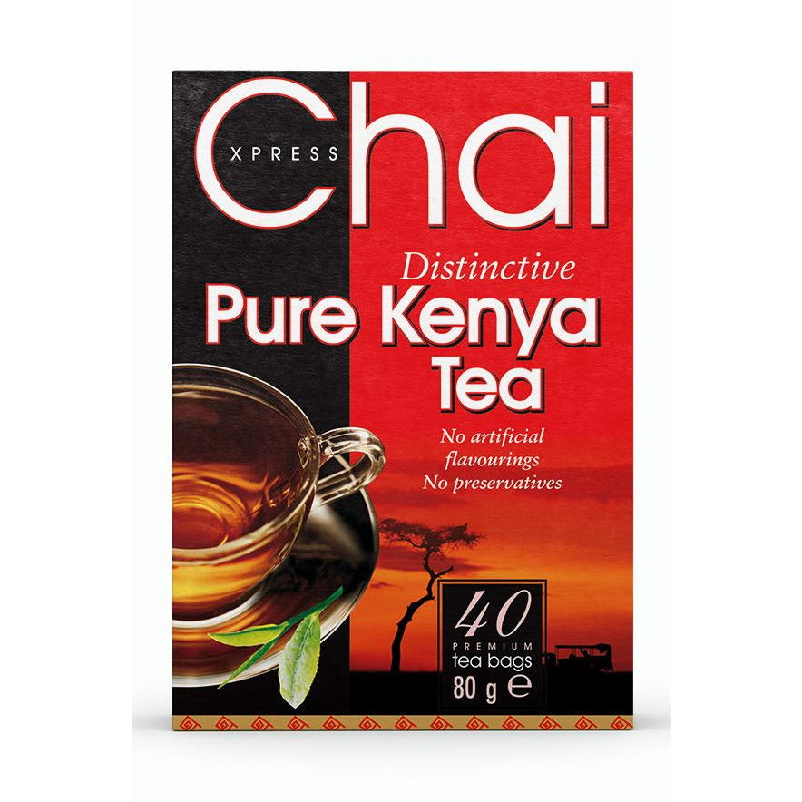 Chai Xpress distinctive pure kenya tea box