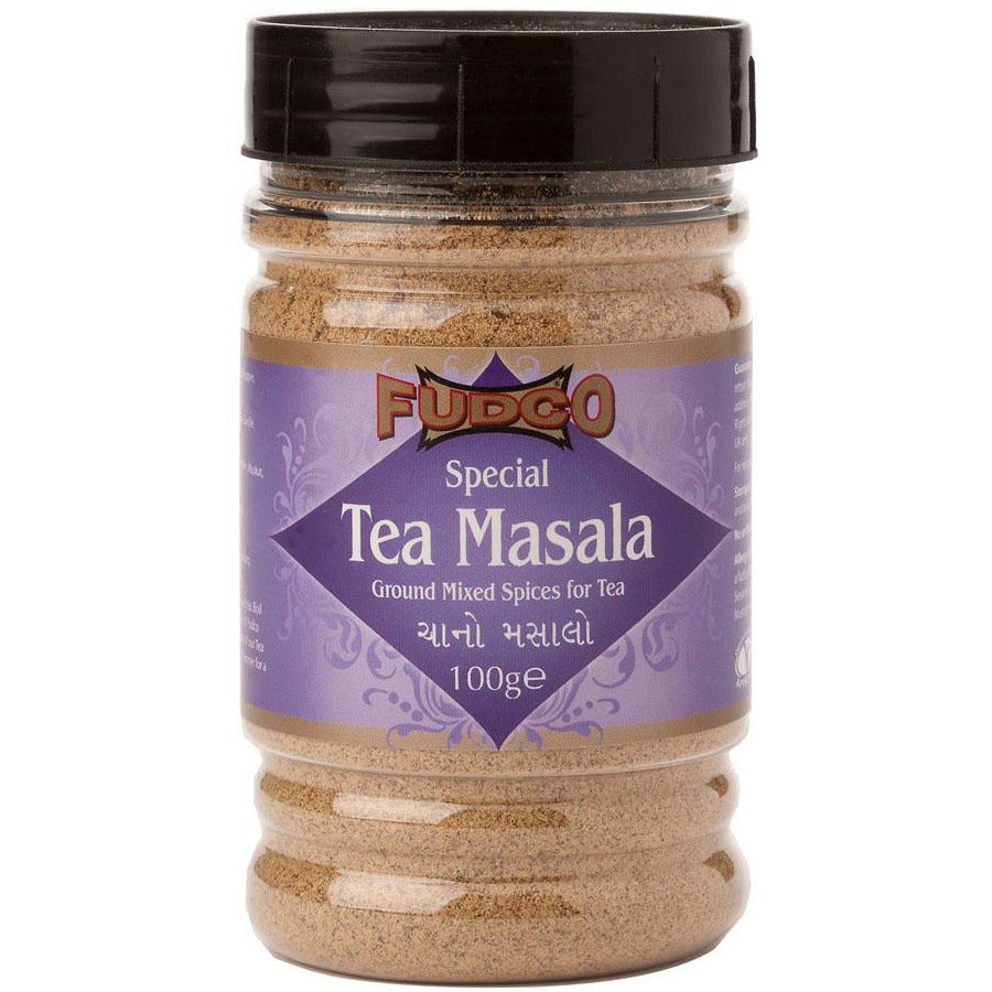 Fudco Tea Masala spice mix in jar