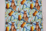 Kangaroo & Banksia Burp Cloth
