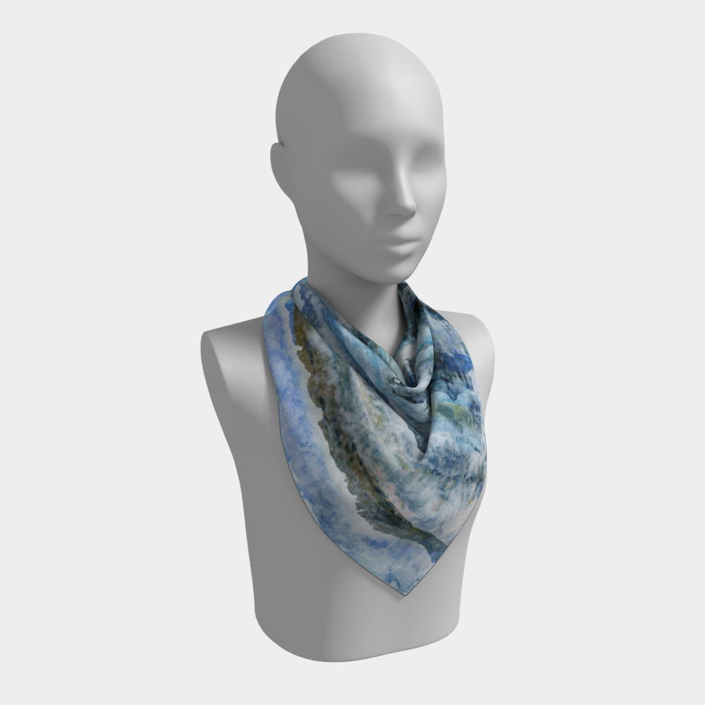 Waves Square Scarf