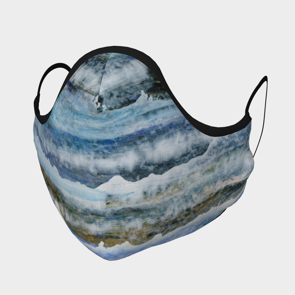 Waves Face Mask