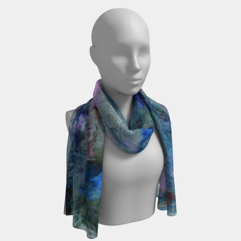 Jungle Stream Long Scarf