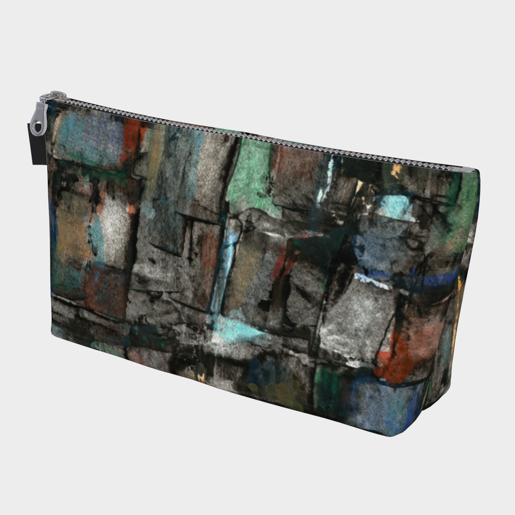 Ancient Ruins Makeup Bag