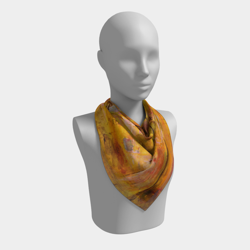 Autumn Square Scarf