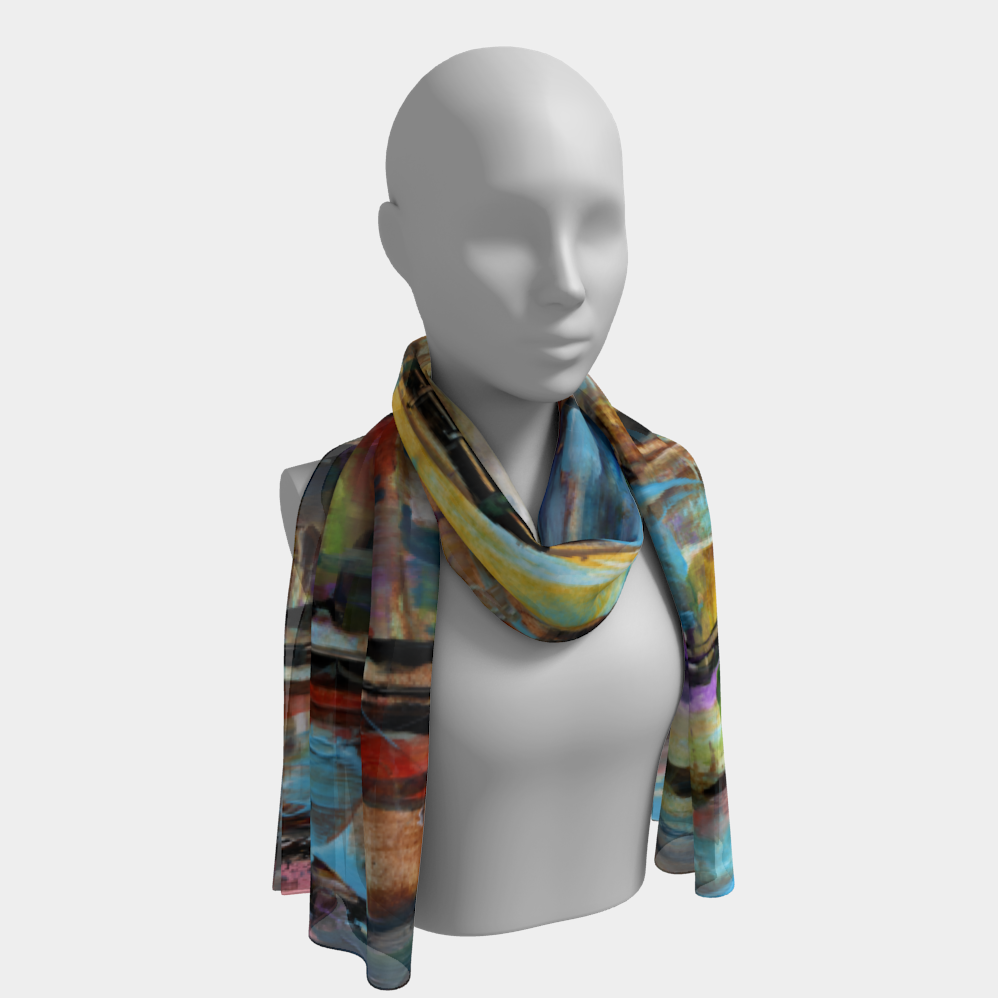 London Long Scarf