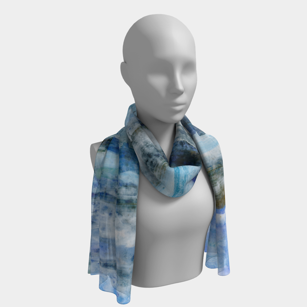 Waves Long Scarf