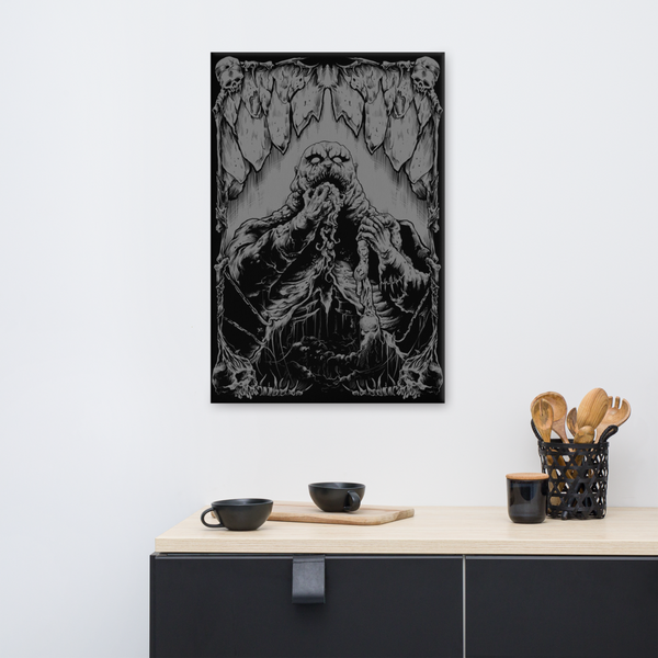 Gluttony on Canvas by Peculiar Artifacts™