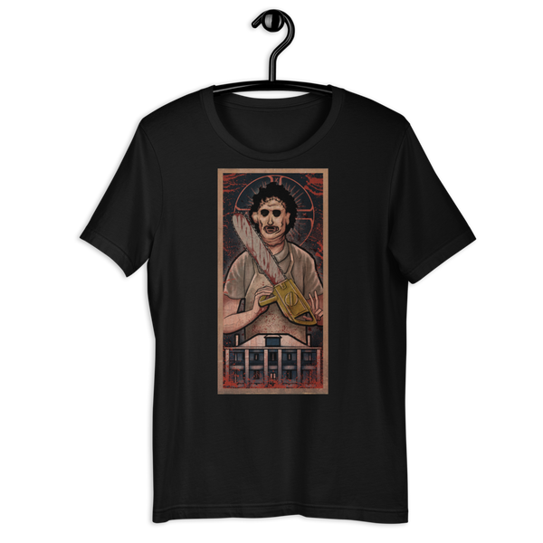 Leatherface in Byzantine-Style Horror