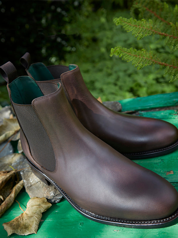 Falcon - Chelsea Boot in Brown Leather