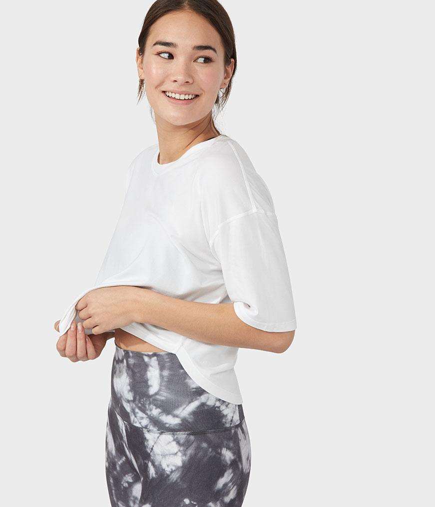 Manduka Crop It Top Small - yogahubstore