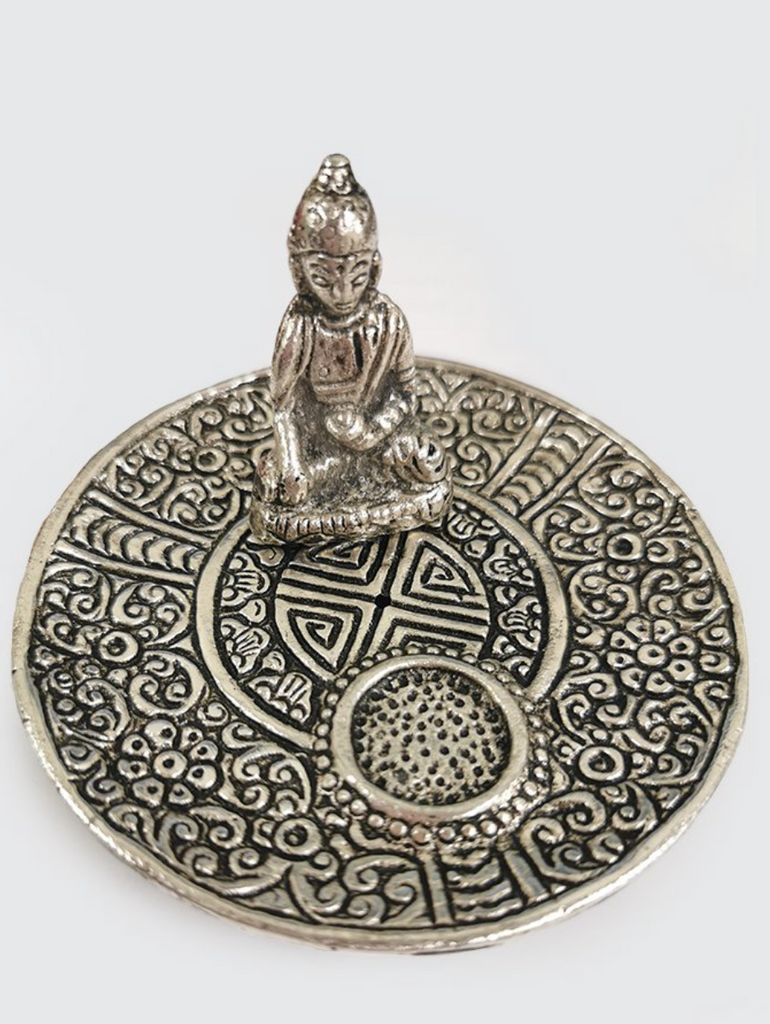 Namaste Antique Buddha Incense Holder - yogahubstore