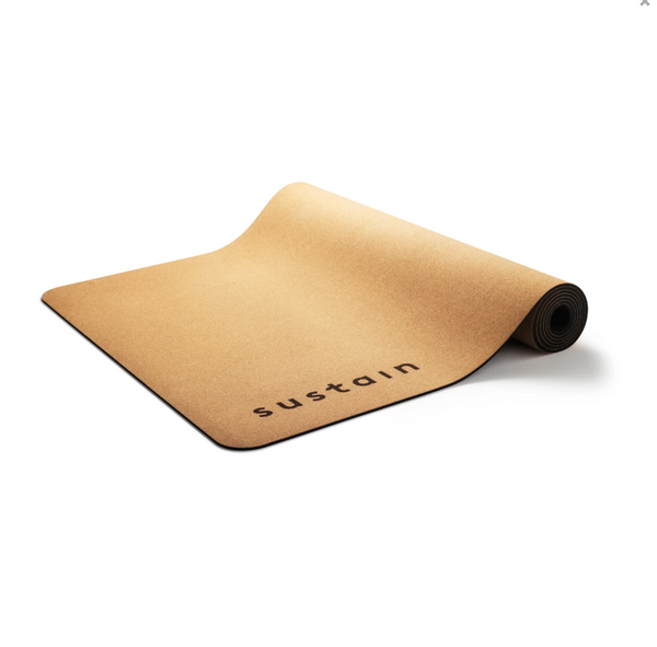 Sustain Cork Yoga Mat