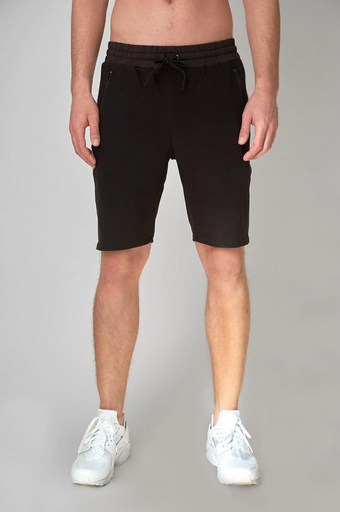 Wolven Men's Onyx Short Medium - yogahubstore