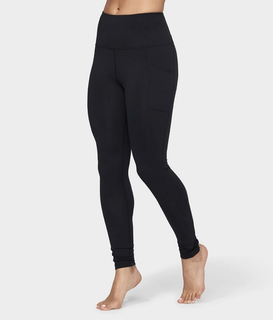 Manduka Essential Pocket Legging Black / Small - yogahubstore