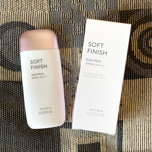 Missha Soft Finish Sun Milk SPF50+ PA+++