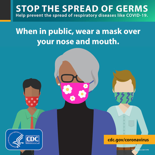 CDC Stop the spread of germs guidelines