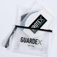 Load image into Gallery viewer, GuardeX Face Mask plus 5 ProteX Filters — vacuum sealed bag and filters included