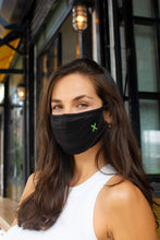 Load image into Gallery viewer, GuardeX Face mask plus 5 Protex filters — adjustable, comfortable, to fit all face shapes - in black
