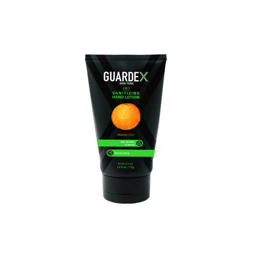 Guardex alcohol free hand sanitizing lotion - energizing orange zest