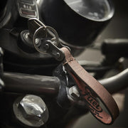 FUEL KEYCHAIN BROWN