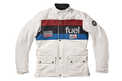 """RALLY RAID"" JACKET WHITE"