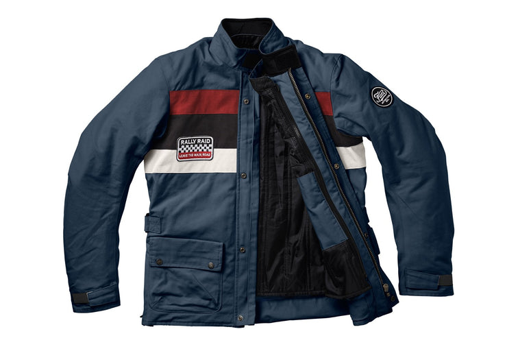"""RALLY RAID"" PETROL JACKET"