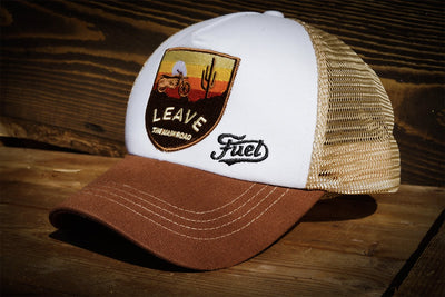 RALLY RAID CAP BROWN