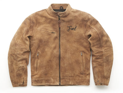 "FUEL ""SIDEWAZE"" TAN JACKET"