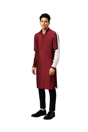 ARMOUR PATCH SLEEVE TWO DORI KURTA