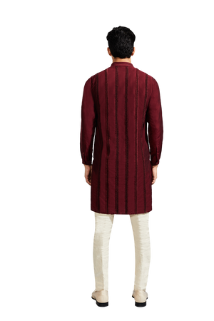 SMALL CHEVRON KURTA