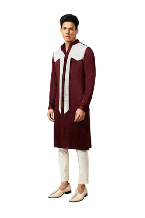 Yoke Patch Kurta