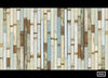 PHE-03 Scrapwood Wallpaper by Piet Hein Eek