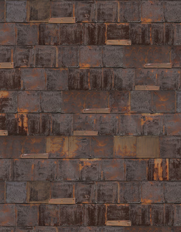Rusted Metal Wallpaper by Piet Hein Eek