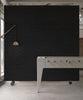 PHM-33 Black Brick Wallpaper by Piet Hein Eek