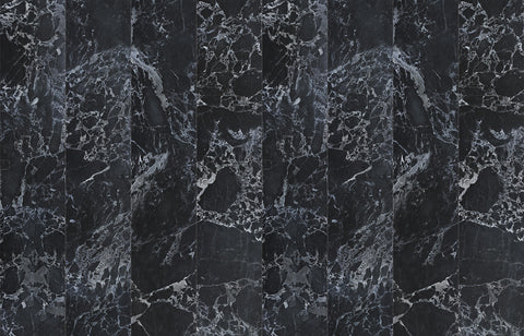Black Marble Wallpaper by Piet Hein Eek