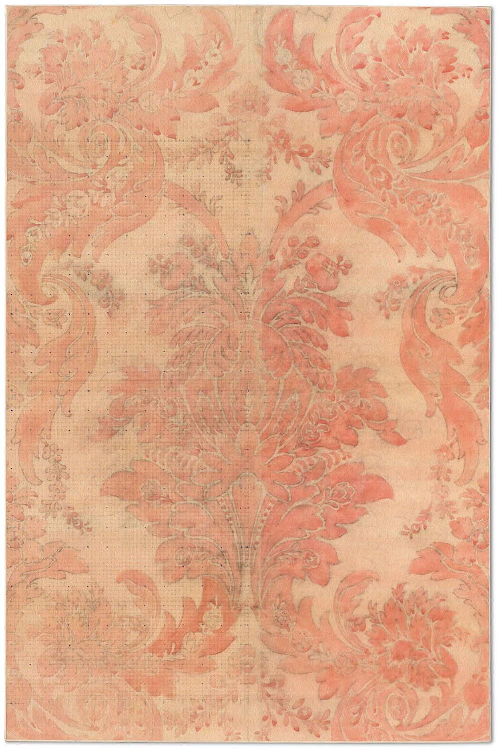 Aubusson Rose Rug by Mr. & Mrs. Vintage
