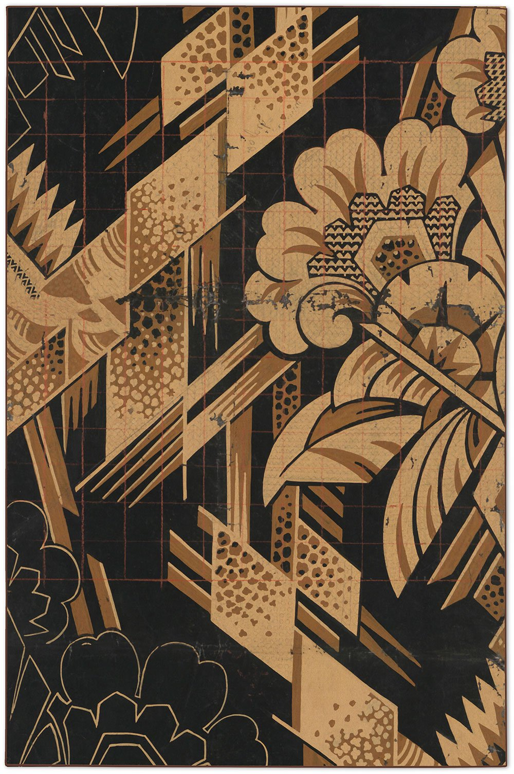 Art Deco Rug by Mr. & Mrs. Vintage